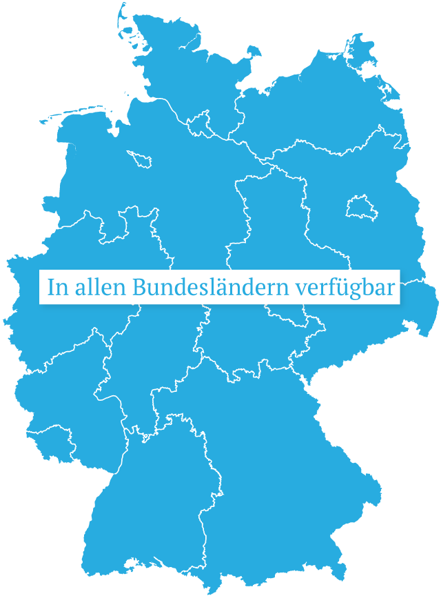 DAK in den Bundesländern